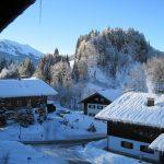 Traumhafter Blick vom Balkon in Oberstdorf